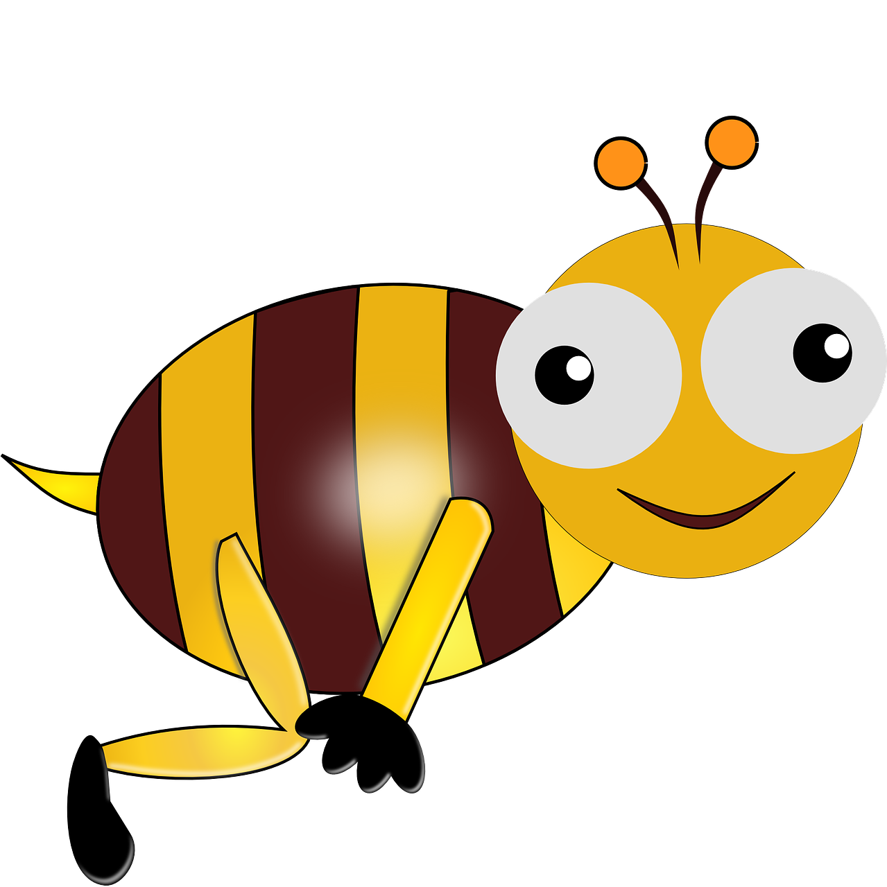 It's just an image of Juicy Funny Bee Picture